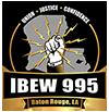 IBEW 995 Baton Rouge, LA Logo